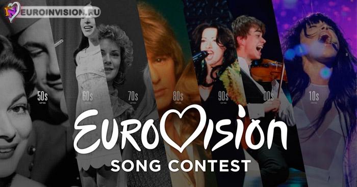 История, Победители Евровидение