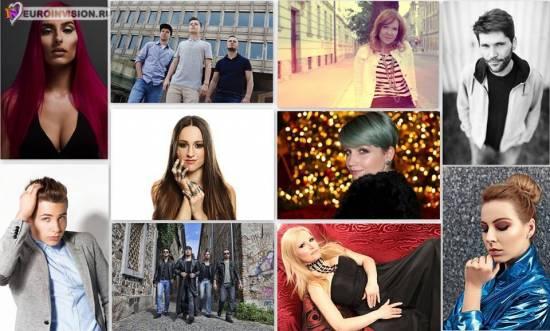 Словения: Объявлены участники отбора «EMA 2016».