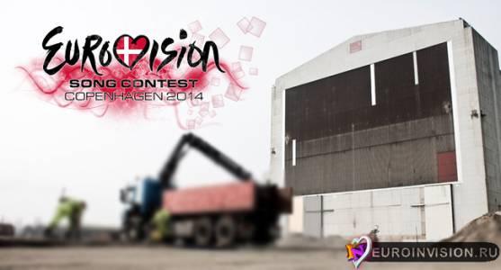 B&W Arena готовится к встрече Евровидения 2014.