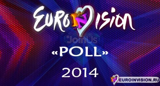 Результаты голосования в первом полуфинале «EuroINvision Poll-2014».