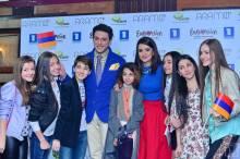 Армения: Состоялась премьера песни Aram MP3 - «Not Alone».