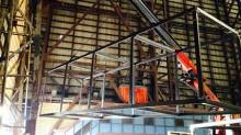 Начались строительные работы в залах B&W.