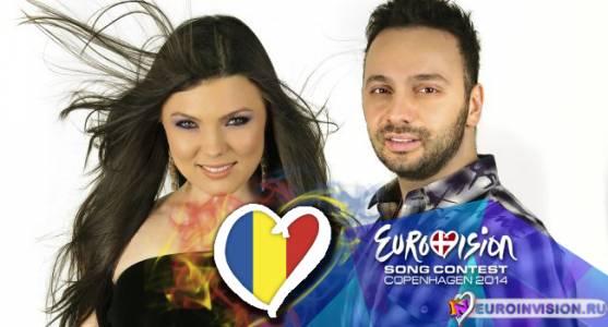 Paula Seling и Ovi представят Румынию на Евровидении 2014.