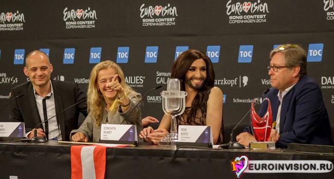 ORF назвал команду организаторов Евровидения 2015.