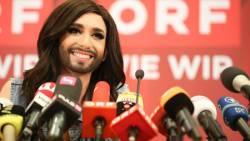 Победительница Евровидения 2014 - Кончита Вурст вернулась в Австрию.
