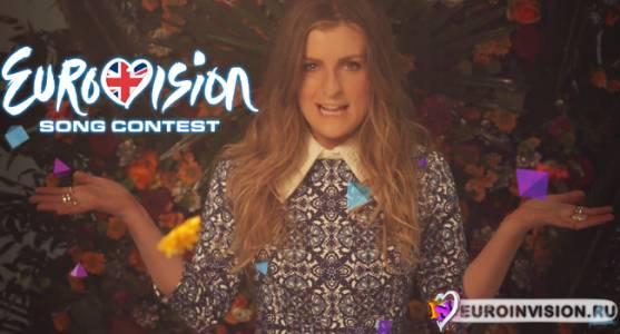 Великобритания: Молли выпустила видеоклип на конкурсную песню.