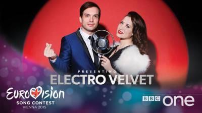 Дуэт Electro Velvet представит Великобританию на Евровидении 2015.