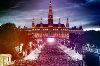 Австрия организует общественные просмотры конкурса Евровидение 2015.
