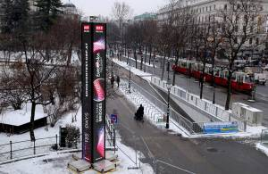 Вена приобретает облик столицы Евровидения 2015.