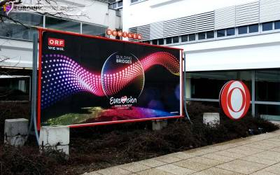 Вена в ожидании грандиозного, юбилейного Евровидения 2015.