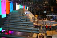 Работы над сценой конкурса Евровидение 2015 продолжаются.
