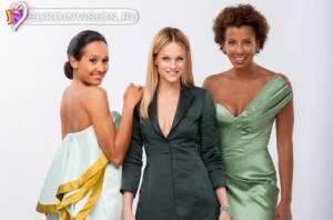 Представлена одежда ведущих во время полуфиналов Eurovision 2015.