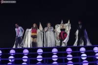 Вторая репетиция участников первого полуфинала.