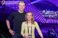 Интервал-акт провел первую репетицию на сцене Евровидения 2015.