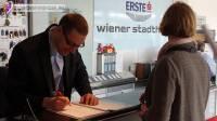 Заключительные работы в арене «Wiener Stadthalle».
